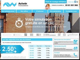Crédit immobilier Actwin Financements à Toulouse