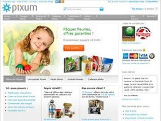 Pixum, spécialiste livre photo et développement