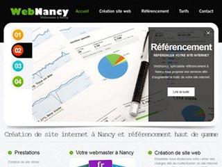 Web Nancy, création de site internet sur Nancy