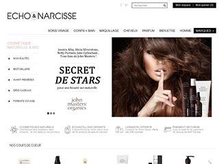 Echo et Narcisse, boutique de cosmétiques bio et naturels