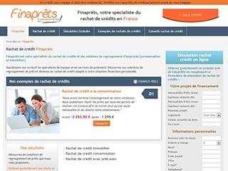 Finaprets.fr, expert du rachat de crédit à la consommation
