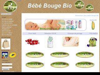 Bébé Bouge Bio, produits bio et naturels pour bébés