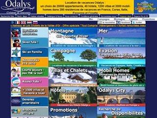 Odalys : Appartements, résidences et villas de vacances