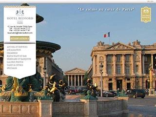 Hôtel quatre étoile parisien près de la Madeleine