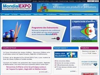 Mondialexpo, forum international des reseaux affaires