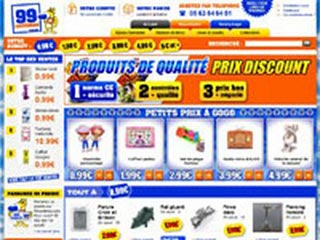 99centimes : Le hard discount sur Internet