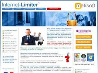 Internet-Limiter, logiciel de filtrage d'internet