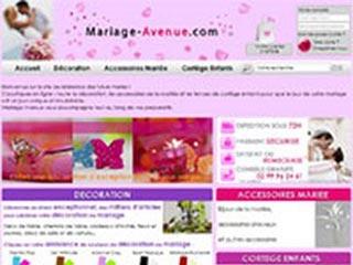 Mariage-Avenue, le magasin de mariage