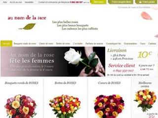 Au nom de la rose, livraison de rose et d'orchidées