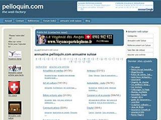 Pelloquin, annuaire suisse francophone gratuit