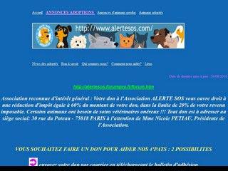Association alerte sos, chiens et chats à adopter