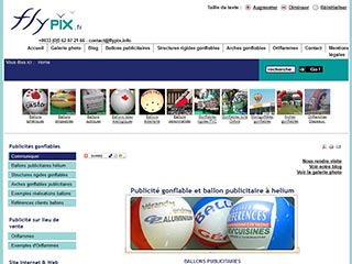 Flypix : Arches gonflables et ballons publicitaires