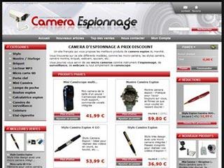 Caméra Espionnage, vente de cameras espions discount