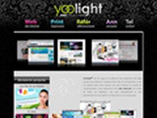 Yoolight, création site Internet
