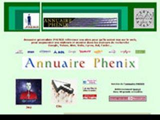 Annuaire phenix, annuaire généraliste