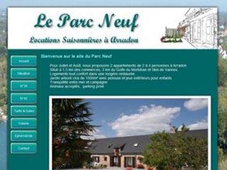 Le Parc Neuf, location vacances dans le Morbihan