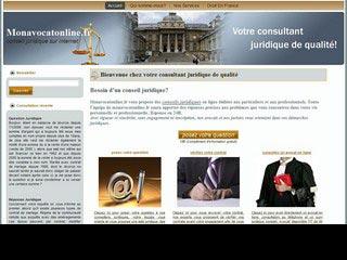 Mon Avocat Online, conseil et consultation juridique