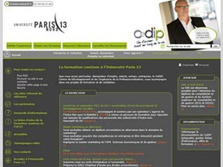 Université Paris 13, pour une formation professionnalisante
