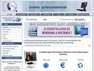 Easy Assistance, depannage informatique a distance