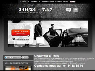 Chauffeur Paris, service chauffeur à Paris et région parisienne