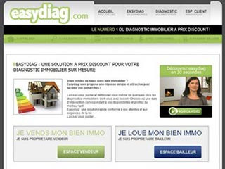 Easydiag, votre diagnostic technique immobilier