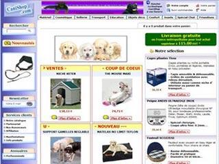 CaniShop, accessoires chiens et chats