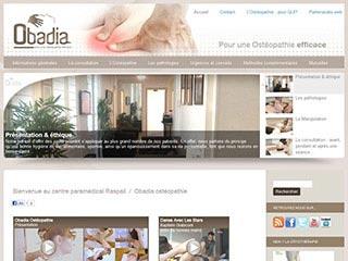 Obadia, cabinet d'osteopathie Paris 7