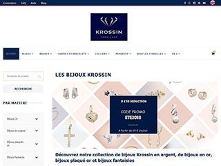 Krossin Bijouterie - Bijoux argent et or