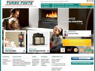 Turbo Fonte, fabricant de cheminées et poêles à bois