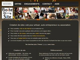 Boite à Site, création de site Internet à Brest