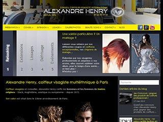 Alexandre Henry : le coiffeur visagiste de Paris