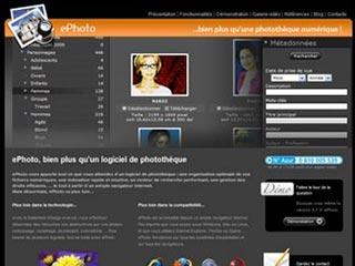 ePhoto, logiciel gestion photothèque professionnel