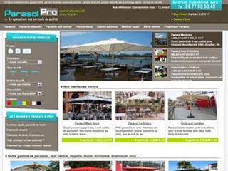 Parasol Pro, le spécialiste des parasols haut de gamme