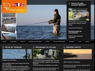 Fiskehejren, voyage de pêche au Danemark