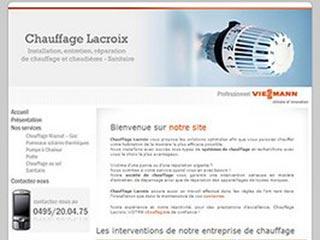 Chauffage Lacroix, chauffagiste à Nivelles