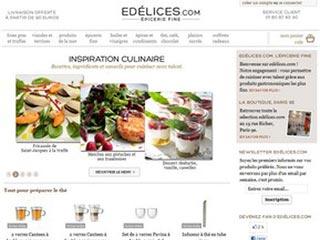 Edelices, produits d'épicerie fine en ligne