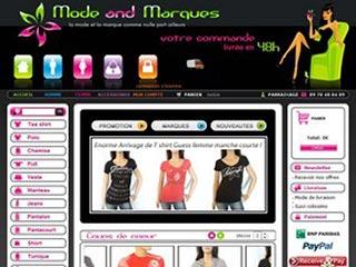 Mode-and-Marques, spécialiste déstockage de vêtements