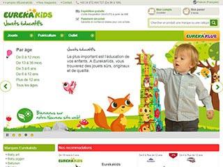 Eurekakids, jeux et jouets éducatifs en ligne