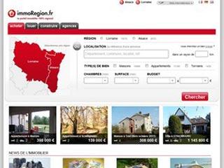 Immoregion, annonces immobilières 100% régionales