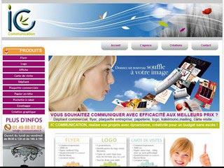 IC Communication : Création de Flyer, Logo, Carte de visite