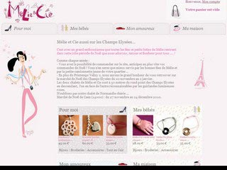 Melie & Cie : Bijoux et objets personnalisés