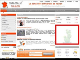 Entreprise Toulon : Actualité économique de Toulon et du Var