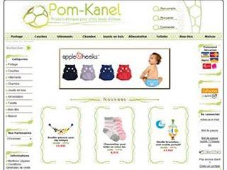 Pom-Kanel : Produits éthiques pour P'tits Bouts d'Choux