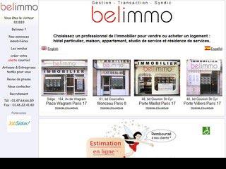 Belimmo, agence immobilière Paris 17