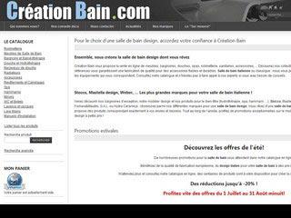 Création Bain, design salle de bain