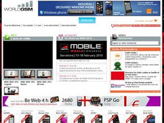 World Gsm, forfait mobile et test mobile
