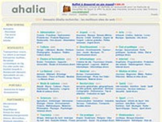 Ahalia, Annuaire recherche