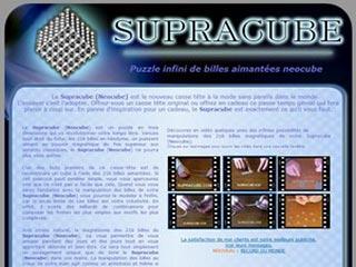 Supracube, puzzle de billes aimantées magnétiques