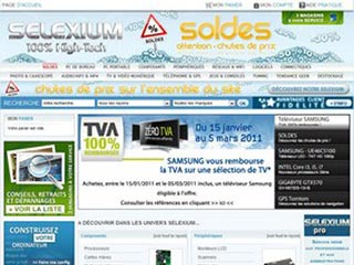 Selexium : Informatique, Multimedia, TV, Téléphonie