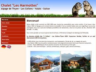 Logement de vacances dans chalet alpin - Suisse